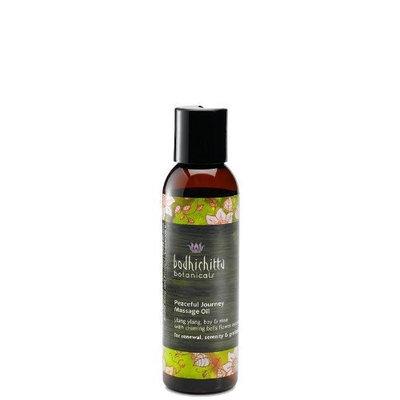 Bodhichitta Botanicals Peaceful Journey Massage Oil, 4 Ounce