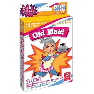 CartaMundi 2 In 1 Card Games Old Maid & Memory