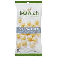 I Heart Keenwah Sea Salt Truffle Quinoa Puffs, 3 oz, (Pack of 12)