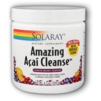 Amazing Acai Cleanse Solaray 226 g Powder