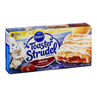 Pillsbury Toaster Strudel Pastries Cherry - 6 CT