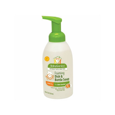 BabyGanics Dish Dazzler Foaming Dish & Bottle Soap