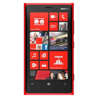 Nokia 920 Factory Unlocked Cell Phone for GSM Compatible - Red