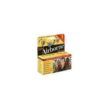 Airborne Effervescent Zesty Orange, 72 Tablets (Pack of 2)
