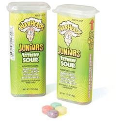 Impact Warheads Juniors Extreme Sour Candy, 1.75 oz, 18 pk