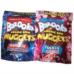 Bazooka Nuggets Gum/18-ct