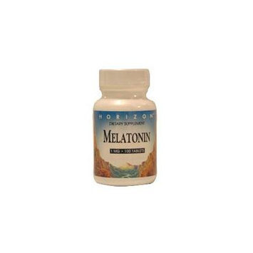 Melatonin 1 Mg Nighttime Sleep Aid Tablets, By Horizon Nutraceuticals - 100 Ea