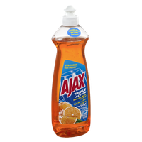 Ajax Triple Action Orange Dish Liquid Hand Soap