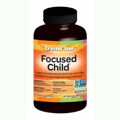 Crystal Star Focused Child (formerly ADDvantage For Kids) - 60 vcaps