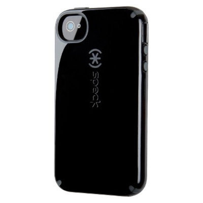 Speck CandyShell Case for iPhone 4/4S - Black/Dark Grey