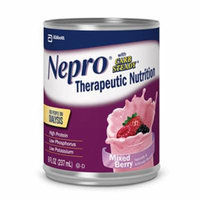 Nepro with Carb Steady Complete Nutrition, Mixed Berry, Case of 24 Cans