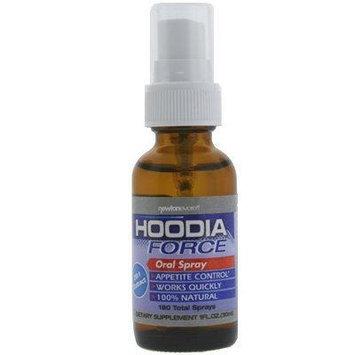 HOODIA FORCE (ORAL SPRAY) 20:1 extract, 1 fl oz - Hoodia Oral Spray Appetite Suppressant