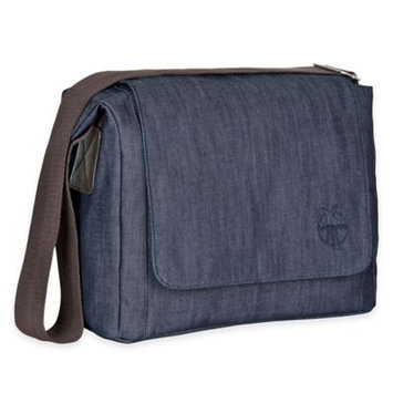 Habermaass Corporation Lässig Green Label Small Messenger Diaper Bag Denim Blue