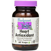 BlueBonnet Heart Antioxidant Formula Vegetarian Capsules, 60 Count