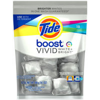 Tide Boost Vivid White + Bright HE Ultra Concentrated In-Wash Booster