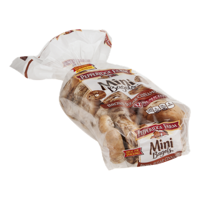 Pepperidge Farm Mini Bagels Brown Sugar Cinnamon - 12 CT