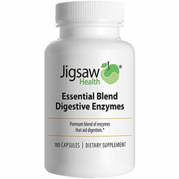 Jigsaw Health - Essential Blend Digestive Enzymes for Digestive Health - 180 count
