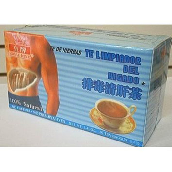 Liver Cleansing Tea 1.41 OZ 20 TEA BAGS
