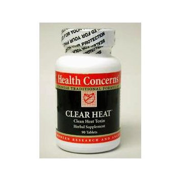 Health Concerns - Clear Heat - Clean Heat Toxin Herbal Supplement - 90 Tablets