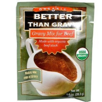 Superior Touch Better Than Gravy, Organic Gravy Mix for Beef, 1.0 Oz., (6-pack)