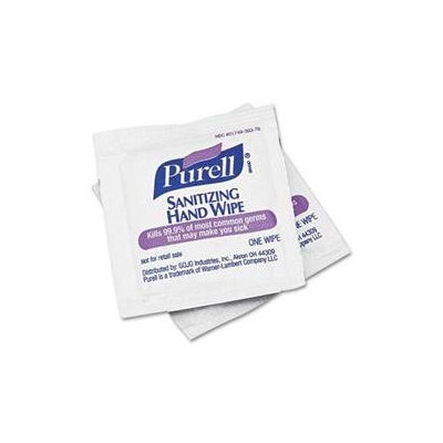 GOJO PURELL Sanitizing Hand Wipes - GOJO INDUSTRIES INC