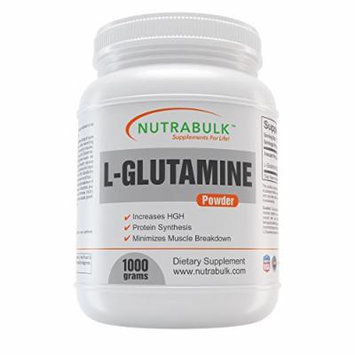Bulk L-Glutamine Powder - 1 Kilogram (2.2 pounds)