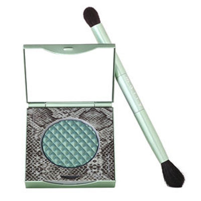 Mally Beauty Effortless Airbrush Eyeshadow with Brush, Lush Forest, .09 oz.