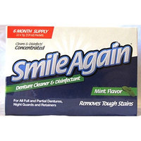 Protech Smile Again Denture Cleaner, Mint Flavor, 7g (22 Pack)