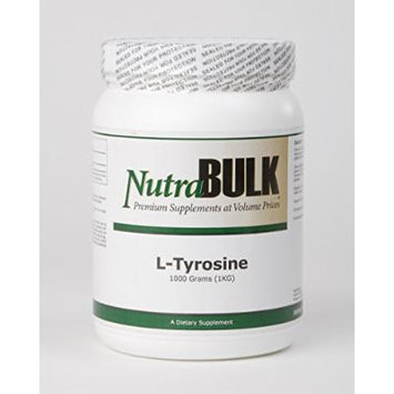 NutraBulk L-Tyrosine Powder 1,000 grams (One Kilogram)