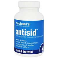 Michael's Health Products Antisid - 90 Wafers - Intestinal/Colon Support