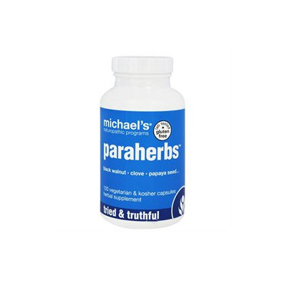 Michael's Health Products Paraherbs W/Blk Walnuts & Cloves - 120 Capsules - Intestinal/Colon Support