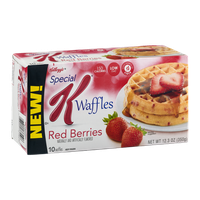 Special K® Kellogg Waffles Red Berries