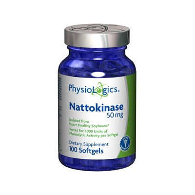 Physiologic's PhysioLogics Nattokinase 50mg 100sg