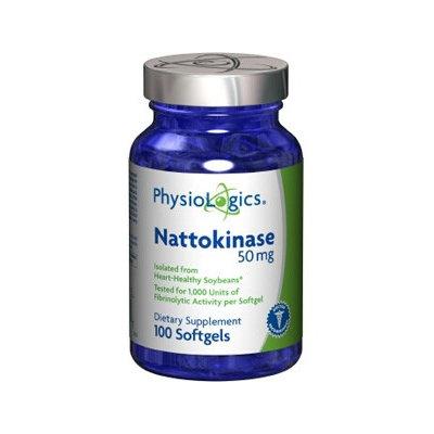 Physiologic's PhysioLogics Nattokinase 50mg 100sg