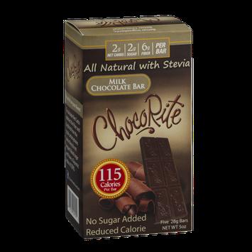 ChocoRite Milk Chocolate Bars - 5 CT