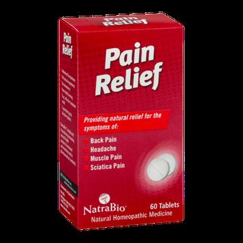 NatraBio Pain Relief Tablets - 60 CT