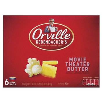 Orville Redenbacher's Movie Theater Butter Microwave Popcorn 6 pk