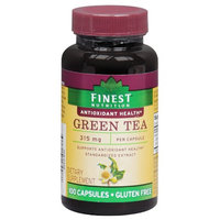 Finest Nutrition Green Tea 315 mg Dietary Supplement Capsules
