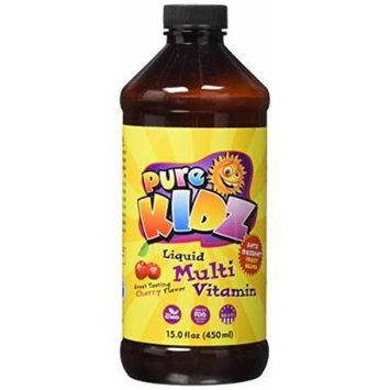 Pure Advantage Kids Liquid Multi-Vitamin, Cherry, 15 Fluid Ounce