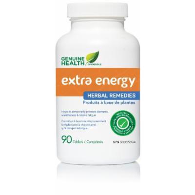 extra energy (90 Tablets) Brand: Genuine Health