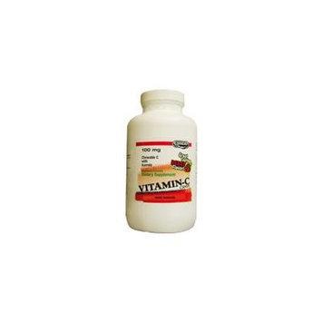 Landau Chewable Vitamin C Candy 100 Mg. Great Tasting Berry Flavor - 250 CHW