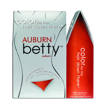 Betty Beauty Color Kit For The Hair Down There, Auburn