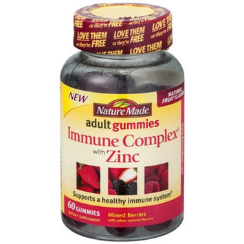 Nature Made Immune Complex with Zinc Adult Gummies - 60 Count