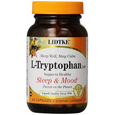 Lidtke Technologies L-Tryptophan Capsules, 60 Count