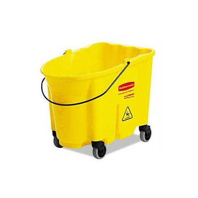 Rubbermaid Commercial RCP757088YEL Yellow WaveBrake Bucket 8.75 gal