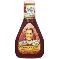 Newman's Own Lighten Up! Light Raspberry & Walnut Dressing 16-oz.
