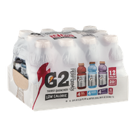Gatorade G2 Perform 02 Thirst Quencher Low Calorie Drinks - 12 CT