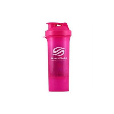 SmartShake Slim Neon Pink 500 mL 17 oz