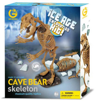 Geo World Ice Age Excavation Kit - Cave Bear