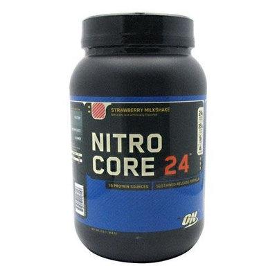 Optimum Nutrition Nitrocore 24 Strawberry Milkshake, 3 Pound